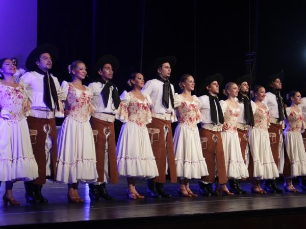 Resultado de imagen para ballet folklórico de la UNA